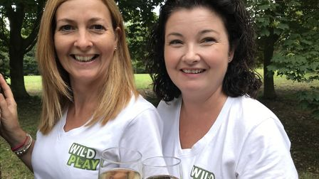 Denise Winder (left) and Heidi Franklin - owners of Wild Play Picture: WILD PLAY LTD