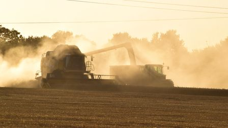 Farm businesses can apply for LEADER grants to help them with harvesting-related equipment Picture: