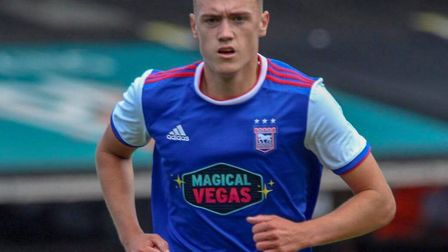 Jack Lankester has signed his first professional contract with Ipswich Town. Picture: ROSS HALLS
