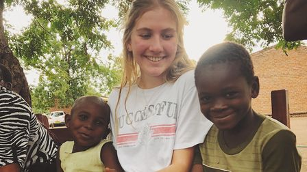 Students fundraised for the project in Malawi Picture: CULFORD SCHOOL