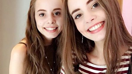 Twins Amy and Ella Marr got exactly the same A-level results in the same subjects Picture: AMY MARR