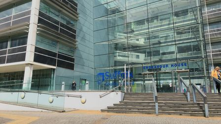 Suffolk County Council offices, Endeavour House. Picture: ARCHANT