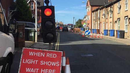 Drivers may held up by temporary traffic lights on Woodbridge Road (stock image) Picture: ARCHANT