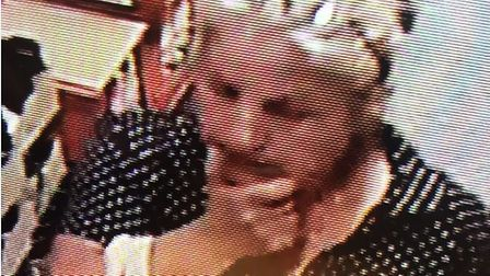 CCTV footage of the women from Aldi who stole Mrs Debenham's bag Picture: JOANNE HOLMES/ ALDI