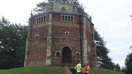 The historic 'Red Mount' chapel makes for an impressive backdrop to the King's Lynn parkrun. Pictur