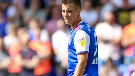 Jonas Knudsen is now in the final year of his Ipswich Town contract - the club having already trigge