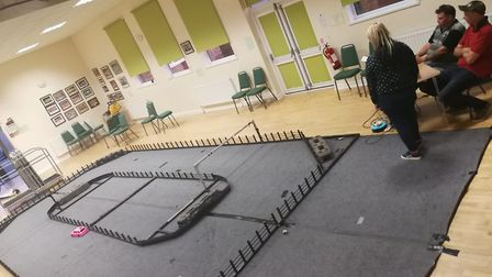 Kev's mobile track is ready to go Picture: KIRSTY HART