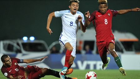 Andre Dozzell played a key role as England won the European U19 Championships in the summer of 2017.