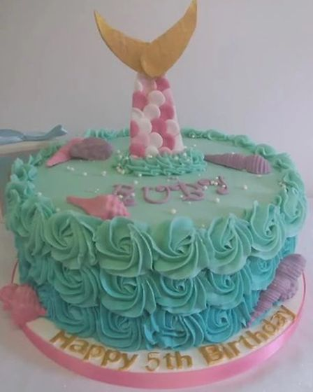 One of the birthday cakes made by Essex Mums Awards winner Little Lucy's Bakery. Picture: LITTLE LUC