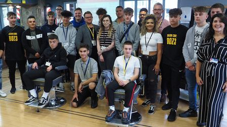 West Suffolk College has launched a unique partnership with Mr Barbers Picture: WEST SUFFOLK COLLEGE