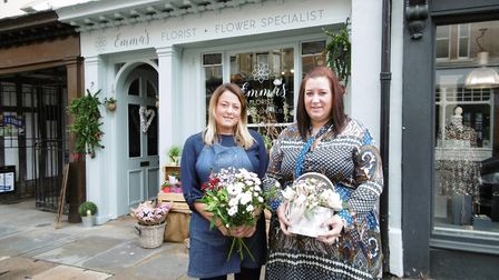 Emma Felgate has opened a new branch of her Ipswich floristry business in St Peter's Street, Ipswich