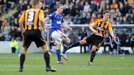 Grant Leadbitter earns Ipswich a share of the points at Hull with this second half strike