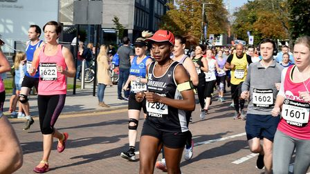 The first Simplyhealth Great East Run in Ipswich Picture: ANDY ABBOTT