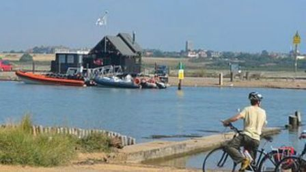 Cyclists are being invited to take part in a ride across all four of Suffolk's foot ferries Picture:
