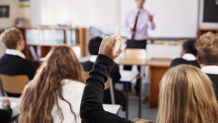 The row surrounding school uniform has intensified at Stowupland High School (stock image) Picture: