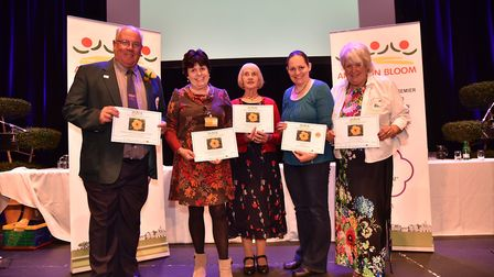 Anglia in Bloom: Chatteris won gold for best town. Picture: SONYA DUNCAN