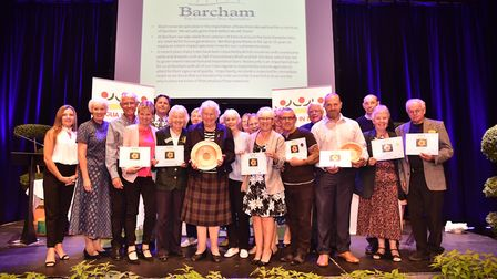 Anglia in Bloom: Halstead collected a best town award. Picture: SONYA DUNCAN