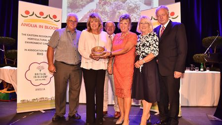 Anglia in Bloom: Filby is awarded best village. Picture: SONYA DUNCAN