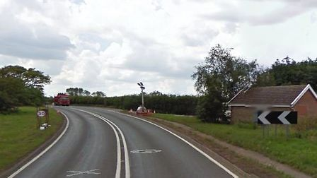 The accident happened at Frostenden on the A12 Picture: GOOGLE