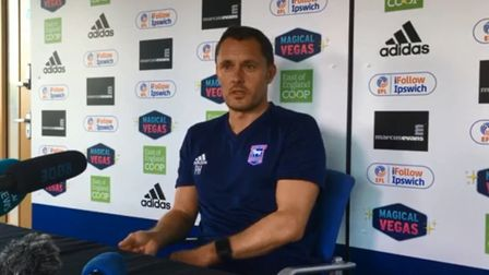 Paul Hurst will speak to the media this morning. Picture: ARCHANT