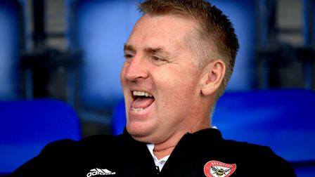 Brentford are second in the table under Dean Smith. Photo: PA