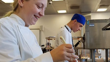 Culinary students from Suffolk College are helping an event to raise money for the charity Fresh Sta