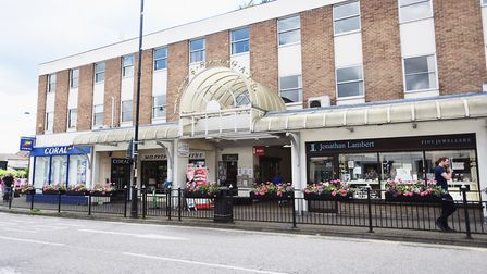 Borehamgate shopping centre in Sudbury is involved in the plans Picture: GREGG BROWN