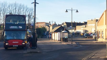 Sudbury bus station in Hamilton Road will be revamped Picture: EMMA BRENNAN