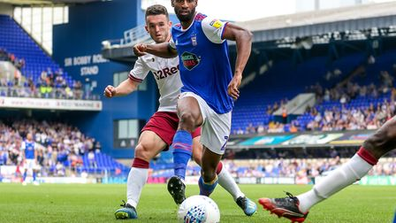 Paul Hurst can name only five of his six loan players in a match day squad. Janoi Donacien was the o