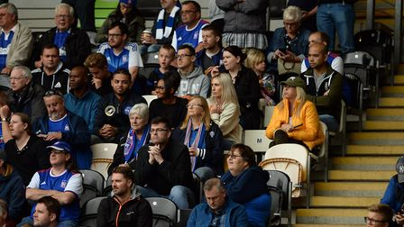 Town fans at Hull City Picture Pagepix