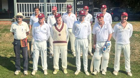The Authors Cricket team at Sudbourne Hall Cricket Club Picture: EMMA LLOYD