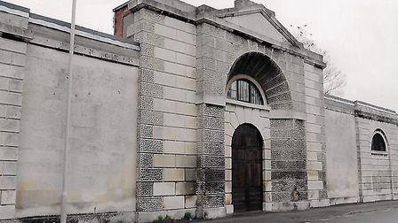 The Gaol: A forbidding façade that has seen on occasions the full weight of the law exercised on the