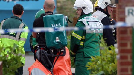 Hazardous materials teams are identifying the substance (stock image) Picture: MARTIN ROSE/EASTNEWS