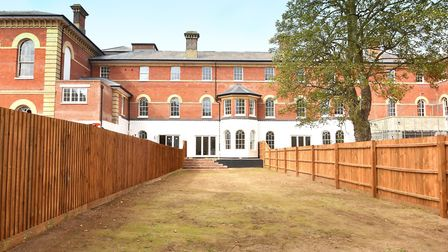 A three-bedroom town house at Belgrove Place in Ipswich is available from Fenn Wright. Picture: FENN