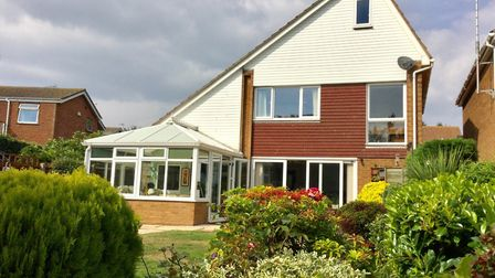 This house in The Pines, Old Felixstowe, has a guide price of £510,000 from Banham Dark Estates. Pic