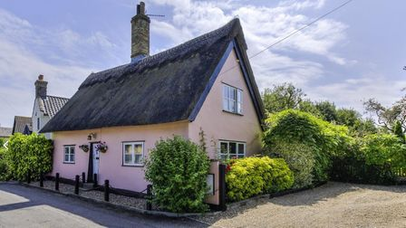 This cottage in Woolpit is on the market from Fine & Country. Picture: FINE & COUNTRY