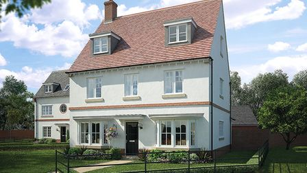 The Warwick house type in Forest View, Colchester, from Bellway Homes. Picture: BELLWAY HOMES