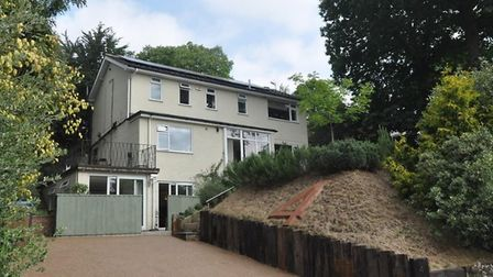 This five-bedroom detached house in Ipswich is available from Town & Village Properties. Picture: TO