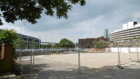 The site of the former Drum & Monkey pub will open as a car park tomorrow Picture: DAVID VINCENT
