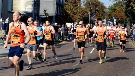 Runners in full flow during the first Simplyhealth Great East Run in 2017. Picture: ANDY ABBOTT