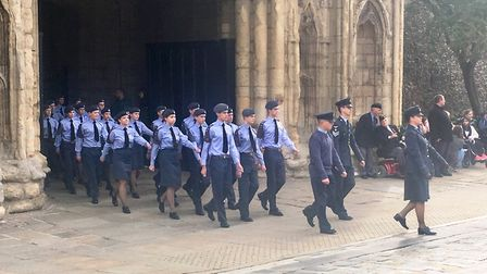The service commemorated the famous battle in the Second World War Picture: MICHAEL STEWARD
