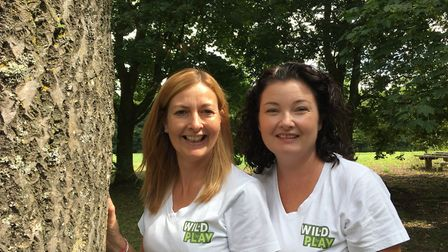 Suffolk-based outdoor learning and forest play school Wild Play Ltd; Denise Winder and Heidi Frankl