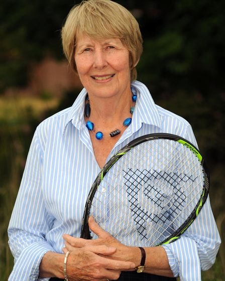 Former tennis star Christine Truman Janes at Snape Maltings. Picture: SIMON PARKER