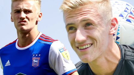 Flynn Downes has been with Ipswich Town since he was seven-years-old. Picture: STEVE WALLER/SARAH LU