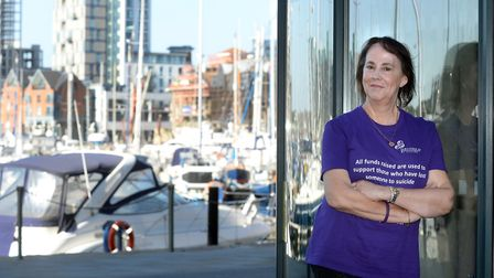 Suzy Clifford, of Bury St Edmunds, set up the Suffolk branch of Survivors of Bereavement by Suicide