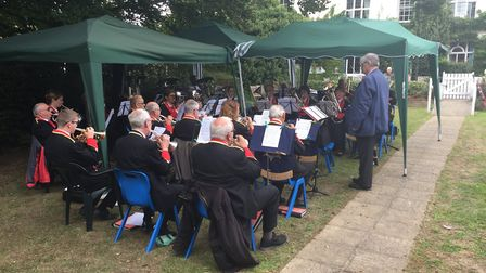 The autumn fair held at Woodbridge Lodge care home. Picture: ANDREW PAPWORTH