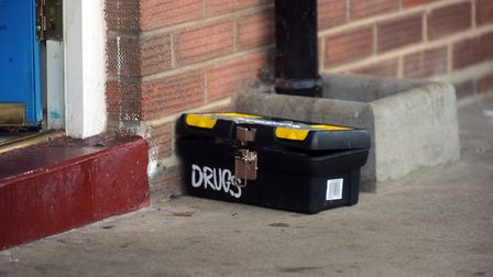 Evidence from drugs raids previously carried out in Ipswich Picture: ARCHANT