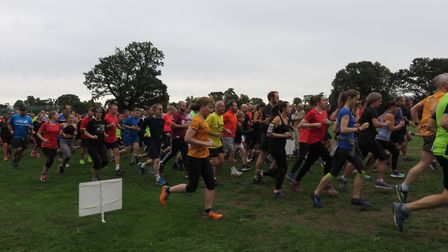 A field of more than 300 turned up for Saturday's Ipswich parkrun. Picture: IPSWICH PARKRUN FACEBOOK