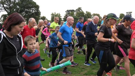 There was a superb turnout for the Ipswich parkrun, which celebrated it's sixth anniversary on Satur