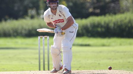Tom Huggins, who captained Sudbury to a successful defence of their EAPL title. He scored 76 against